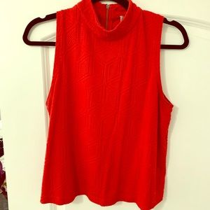 Anthropologie Red Top